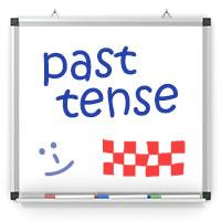 Past Tense Whiteboard