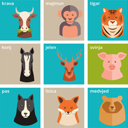 Croatian Vocabulary: Animals